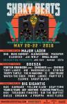 Shaky Beats Festival 2016 Lineup